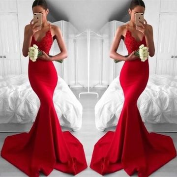 $116.99 Red Long Prom Dresses 2020