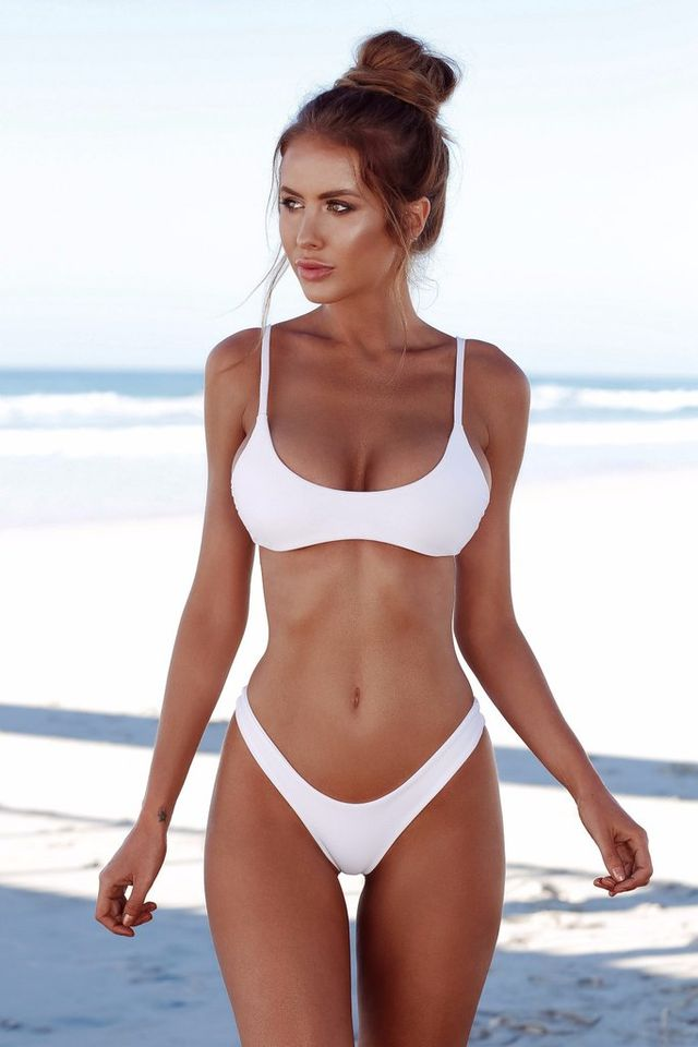 fbcbf666ef  12.99 COSPOT Bikini 2019 Sexy Women Swimwear Brazilian Bikini Push Up  Swimsuit Solid Beachwear Bathing Suit Thong Biquini Bikini Set